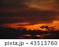 夕焼けと雲_814 43513760