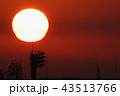 冬の朝・太陽アップ_815 43513766