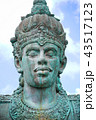 Close up of Garuda Wisnu Kencana Face, Bali 43517123