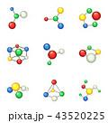 化学 式 数式のイラスト 43520225