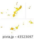 沖縄県地図 43523097