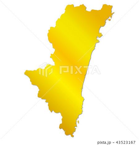 宮崎県地図 43523167
