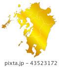 九州地図 43523172