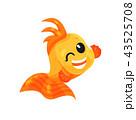 サカナ 魚 魚類のイラスト 43525708