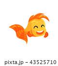 サカナ 魚 魚類のイラスト 43525710