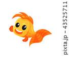 サカナ 魚 魚類のイラスト 43525711