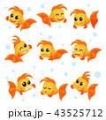 サカナ 魚 魚類のイラスト 43525712