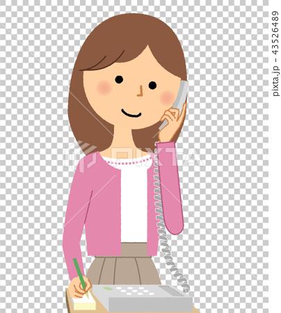 年輕的女士媽媽電話 43526489
