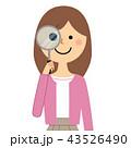 女性 若い ベクターのイラスト 43526490