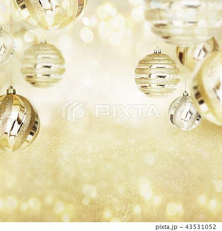 背景-クリスマス-ゴールド-キラキラ 43531052