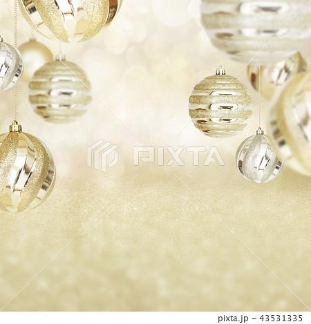 背景-クリスマス-ゴールド-キラキラ 43531335