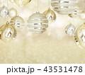 背景-クリスマス-ゴールド-キラキラ 43531478