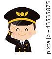 パイロット 男性 43535875
