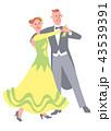 シニア男女 趣味 ダンス 43539391