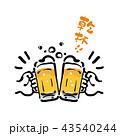 ビール ベクター お酒のイラスト 43540244