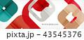 ジオメトリック 幾何学的 抽象的のイラスト 43545376