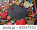 Colorful sweets. Lollipops and candies 43547531