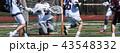 Lacrosse goalie blocks ball 43548332