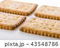 ビスケット クッキー お菓子の写真 43548786