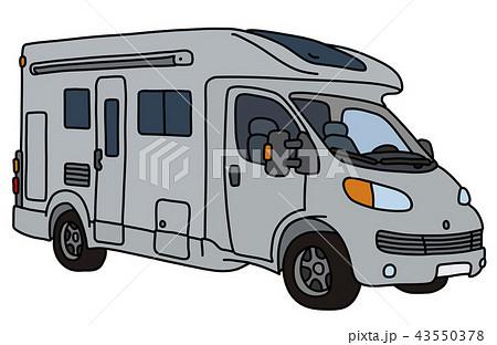 The light gray motor home 43550378