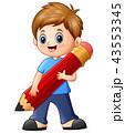 少年 男の子 幼いのイラスト 43553345