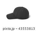 キャップ 帽子 ベースボールのイラスト 43553813