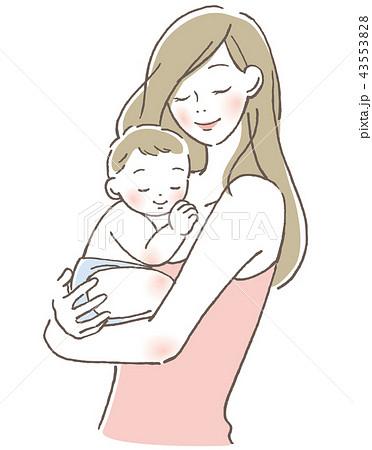 赤ちゃんと母親 43553828