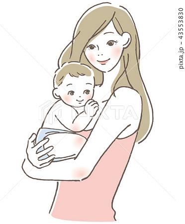 赤ちゃんと母親 43553830