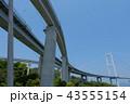 来島海峡大橋とサイクリングロード 43555154