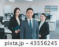 ビジネス ビジネスチーム 男女の写真 43556245