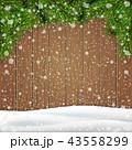 木製 木造 バックグラウンドのイラスト 43558299