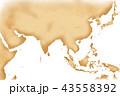 古地図 地図 古いのイラスト 43558392