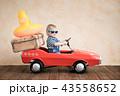 子 子供 車の写真 43558652