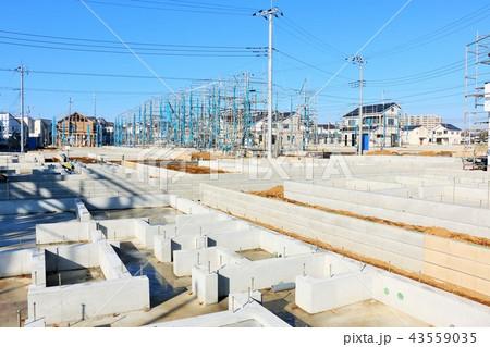 建設中の住宅 43559035