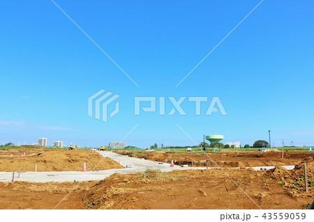 建設予定の土地 43559059
