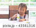 教室 教室風景 絵の写真 43561316