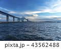 ゲートブリッジ 東京湾 東京 羽田 滑走路 航路 橋 海 船 通過 ゲート 43562488