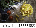 パスタ イタリアン食材 イタリア料理の写真 43563685