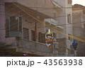 インド 夕暮れのニューデリー バックパッカーの聖地 メインバザールの街並み ディワリ祭の装飾 43563938
