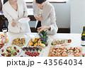 パーティ ビジネスパーティ 女性の写真 43564034