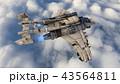 ジェット機 43564811