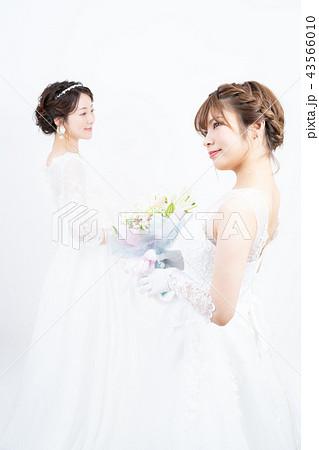 花嫁 ブライダル 2人 43566010