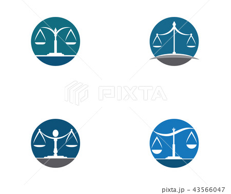 justice law Logo Template 43566047