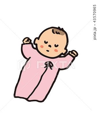 赤ちゃん 女の子 43570965