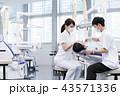 歯医者 歯科衛生士 患者の写真 43571336