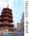川崎大師 平間寺 寺の写真 43574381