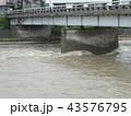 河川増水 43576795