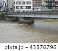 河川増水 43576796
