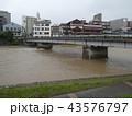河川増水 43576797