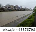 河川増水 43576798